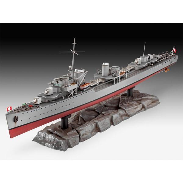 Duitse Destroyer Type 1936. Vrijwel alle van de zes Type 1936 destroyers werden naar Narvik, Noorwegen, in 1940 om vitale ijzere
