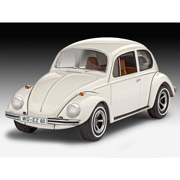 VW Beetle Een eenvoudig te modelbouw kit van de wereldberoemde VW Kever die een belangrijk onderdeel van het leven voor vele gen