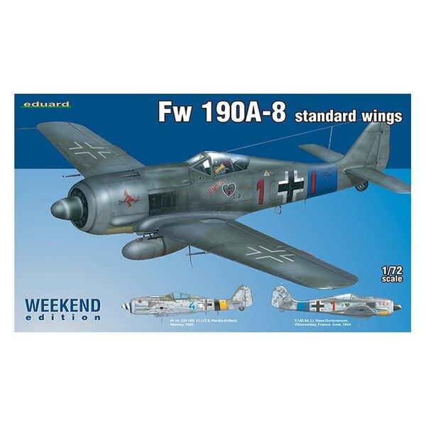 EDUARD FW 190A-8 07435 STANDARD WINGS 1/72