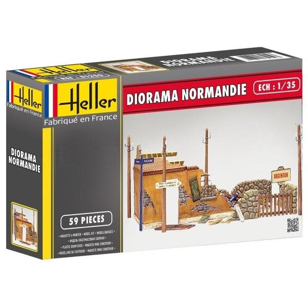 1/35 HELLER 81250 - DIORAMA RUÏNES Normandië