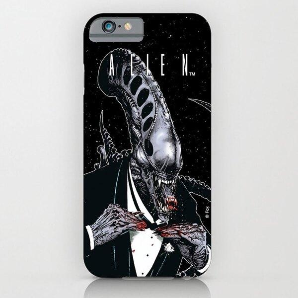 Alien iPhone 4 Case Tuxedo