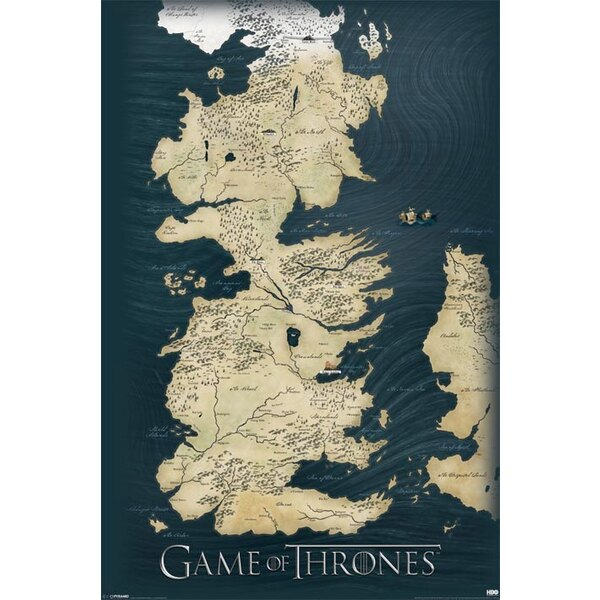 Game Of Thrones Poster Pack Map 61 x 91 cm (5)
