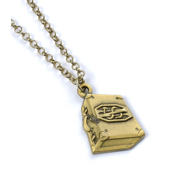 Fantastic Beasts Pendant & Necklace NS Suitcase (antique brass plated)