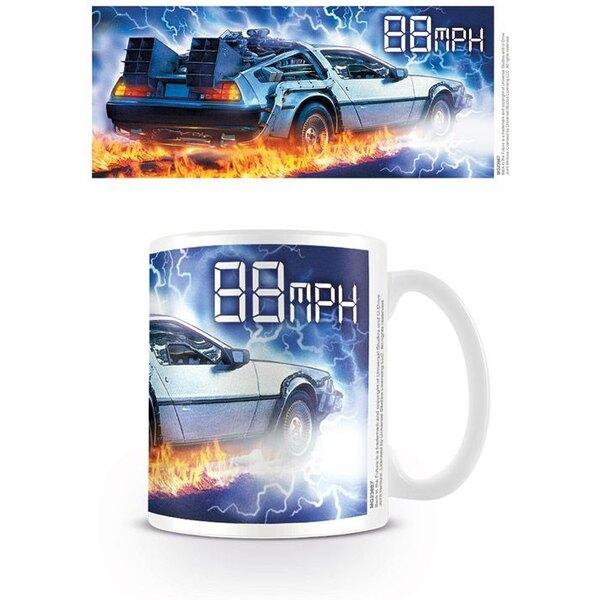 Back to the Future Mug 88 MPH