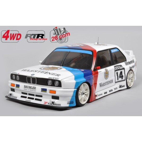 Chassis 4WD RTR 510 + Carro BMW E30