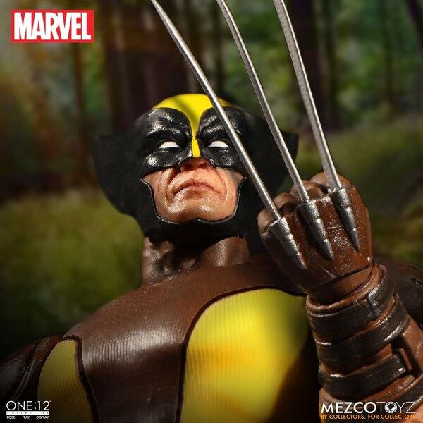 Marvel Figure 1/12 Wolverine 15 cm