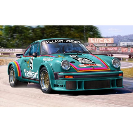 Porsche 934 RSR Vaillant An easy-to-build model construction kit of this successful Group 4 GT Class racing car which was raced