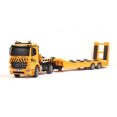 MB Arocs + aanhangwagen vervoerder