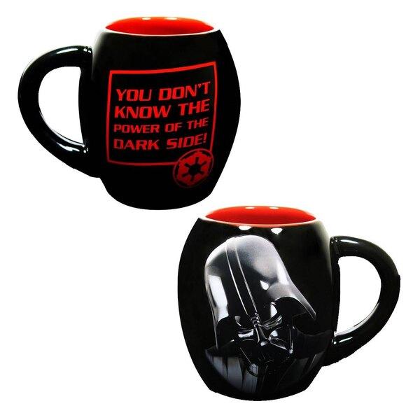 Star Wars Ceramic Mug Darth Vader The Dark Side