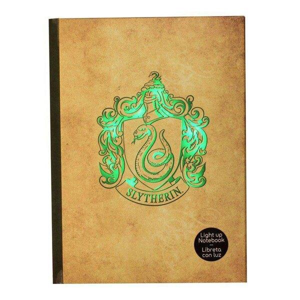 Harry Potter Notebook with Light Slytherin