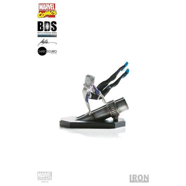 Marvel Comics Battle Diorama Series Statue 1/10 Spider-Gwen 16 cm
