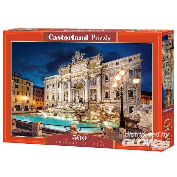 Puzzel Fontana di Trevi, puzzel 500 stuks
