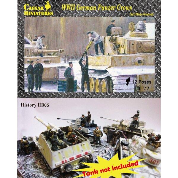 WWII German Panzer Crews (Sets 2) (hoewel dit een oud onderdeel is, is dit een gloednieuwe set die nog nooit eerder is vrijgegev