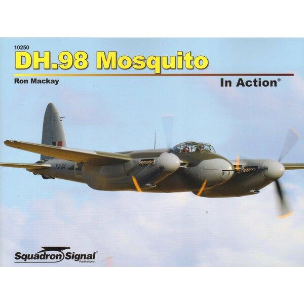 Boek De Havilland DH.98 MOSQUITO IN ACTIE (Softcover)