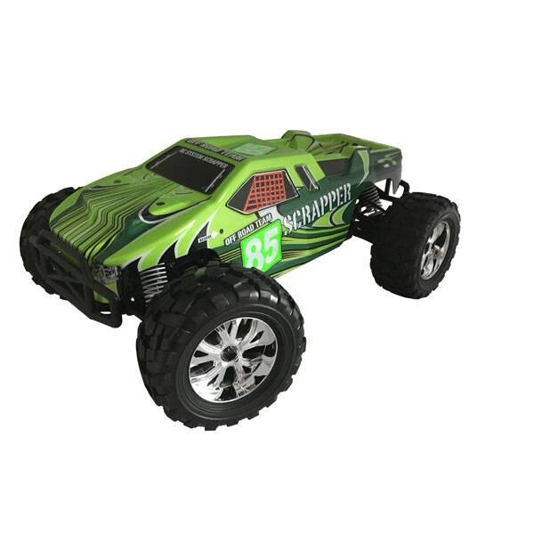 GROENE SCRAPPER CAR 1/10 4x4 BRUSHED RTR