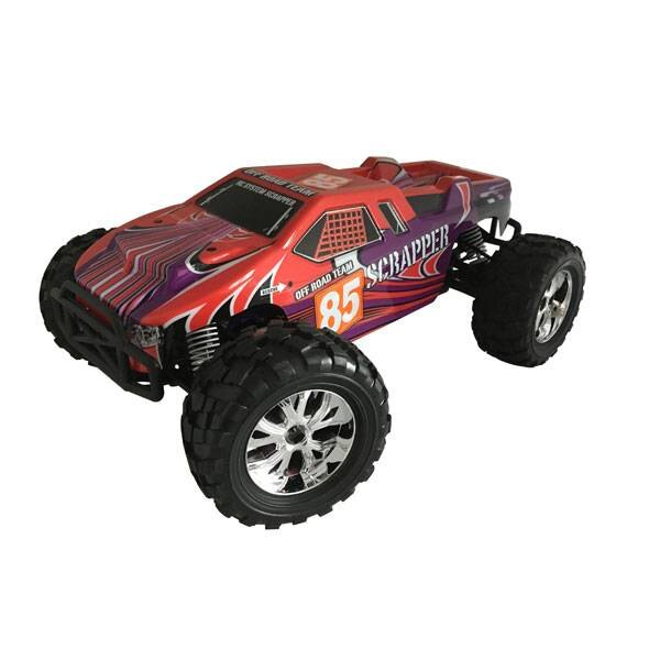 SCRAPPER CAR RED 1/10 4x4 BRUSHED RTR