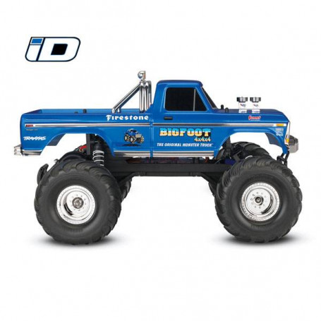 BIGFOOT NO. 1-4x2 - 1/10 BRUSHED TQ 2.4GHZ - iD