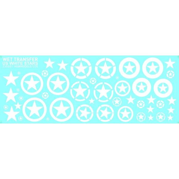 White Stars - US kan voor verschillende schalen worden gebruikt