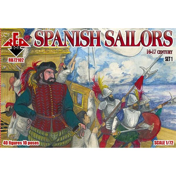 Spaanse Sailors 16-17 eeuw