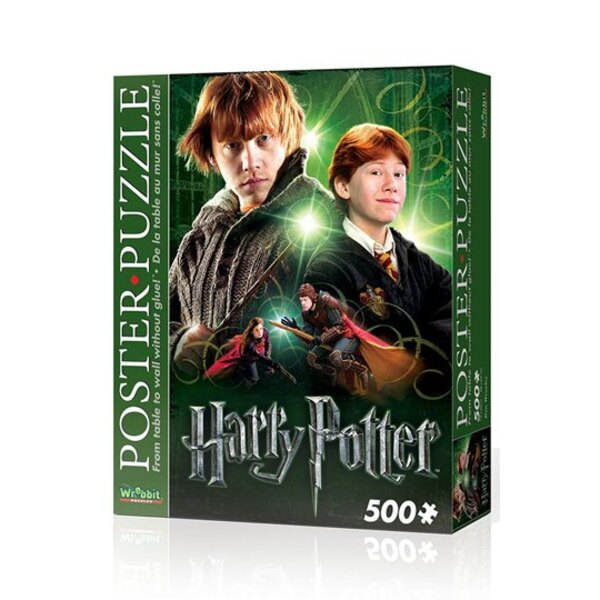 Puzzle Harry Potter Poster Puzzle Ron Wemel