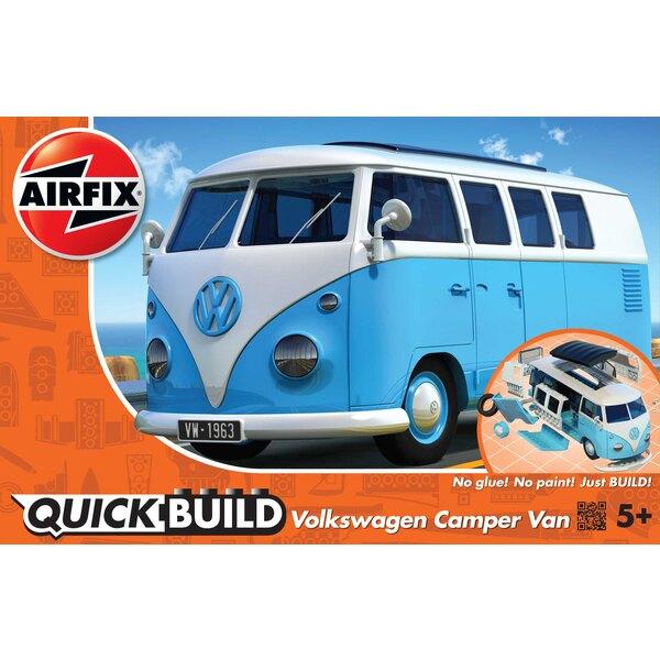 QUICKBUILD VW Camper Van - Bleu