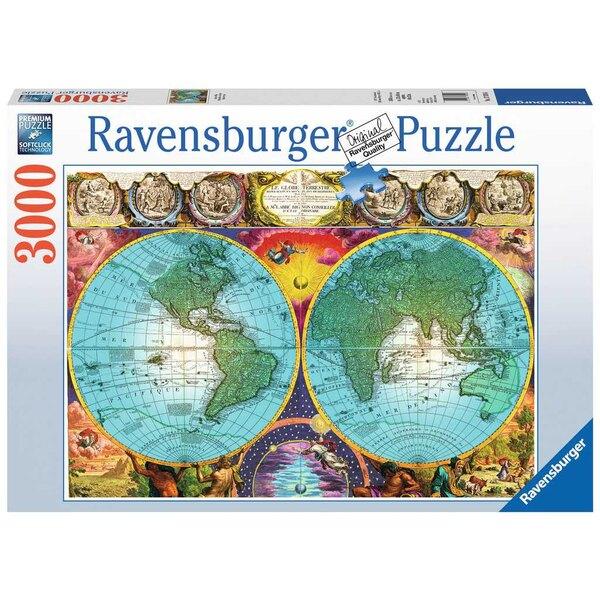 Puzzel Antieke planisfeer