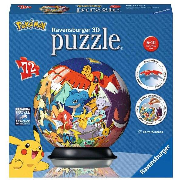 Puzzle 3d Pokémon