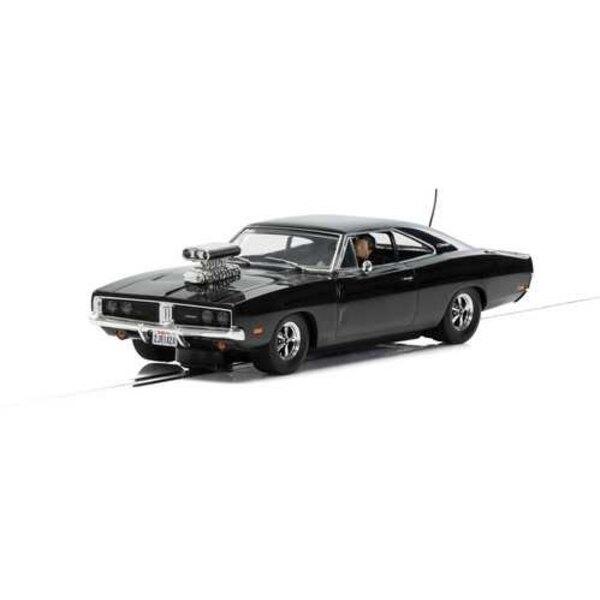 Dodge Charger (hoogglans zwart) met ventilator