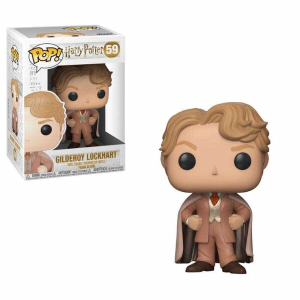 Harry Potter POP! Videos Vinyl Figuur Gilderoy Lockhart 9 cm