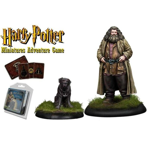 Harry Potter Miniaturen 35 mm 2-pack Rubeus Hagrid * Engelse versie *