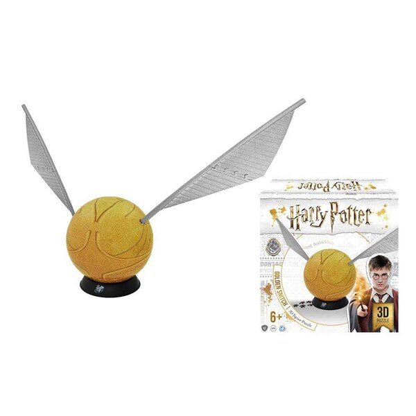 Puzzle Harry Potter 3D Puzzle Golden Snitch (244 stuks)