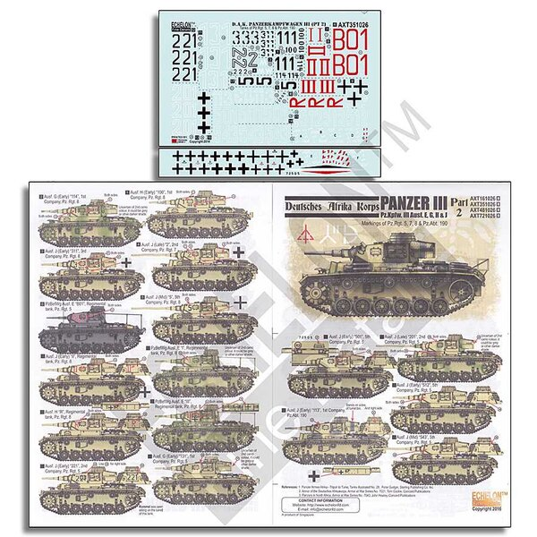 DAK Panzer IIIs Part 2