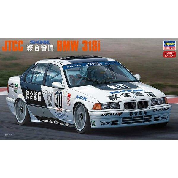 JTCC SOK BMW 318I Het All Japan Touring Car Championship (JTCC) was een van de meest prestigieuze races van de jaren tachtig en