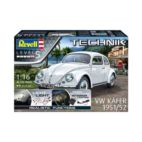 1951/52 VW (VW / Volkswagen) Beetle Technik-serie Met meer dan 21 miljoen geproduceerde exemplaren van 1938 tot 2003, is de orig