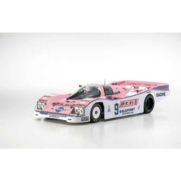 Plazma lm 1/12 porsche 962 joest racing no9 carbon uitvoering