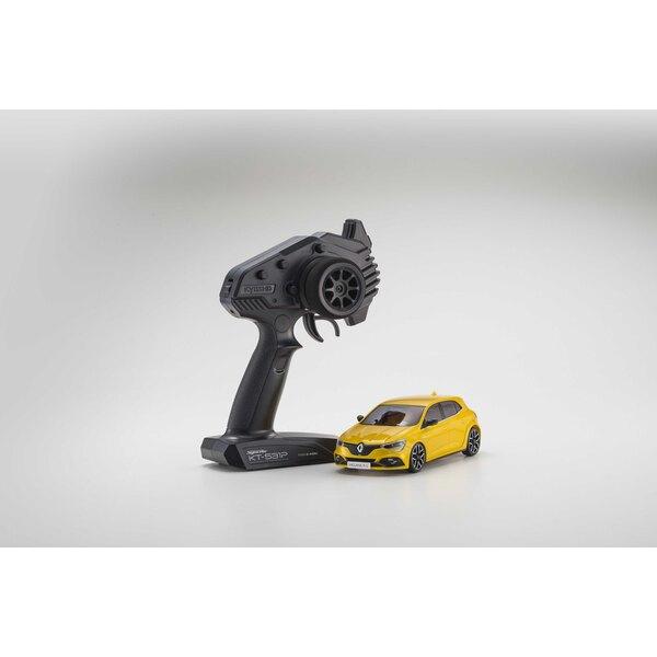 Mini-z voor Renault megane sirius rs geel (ma-03f / kt531p)