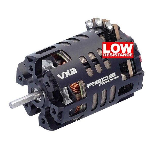 Borstelloze motor rood vx2 540 13.5t 2 polen sensored stock