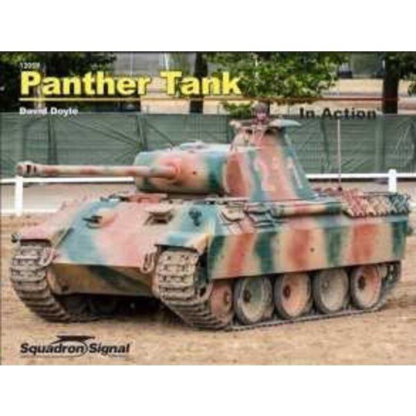 Boek Pz.Kpfw.V Panther Tank (In Action-serie) Hoewel niet zo beroemd in de literatuur (of propaganda) als de gevreesde Tijger, w