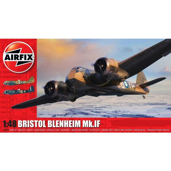 Bristol Blenheim Mk.IF NIEUW GEREEDSCHAP <br /> <br /> Ongetwijfeld een van de belangrijkste vliegtuigen uit de oorlogsjaren, ka