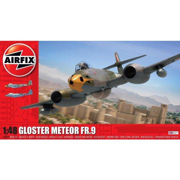 Gloster Meteor FR.9 <br /> Schema 1: WL263 208 Squadron Malta 1957 <br /> Schema 2: WB116 / G RAF 2 squadron 1956 <br /> <br />