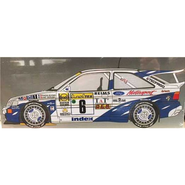 Ford Escort RS Cosworth Monte Carlo Raly 1994 Froancois Delecour - Daniel Grataloup
