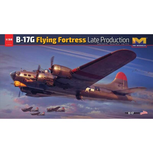 Boeing B-17G Flying Fortress late productie