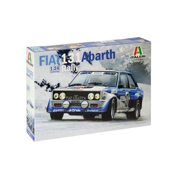 Fiat 131 Abarth Rally De Fiat 131 Abarth werd gebouwd op het frame van de tweedeurs Fiat sedan. De ontwikkeling van Abarth heeft