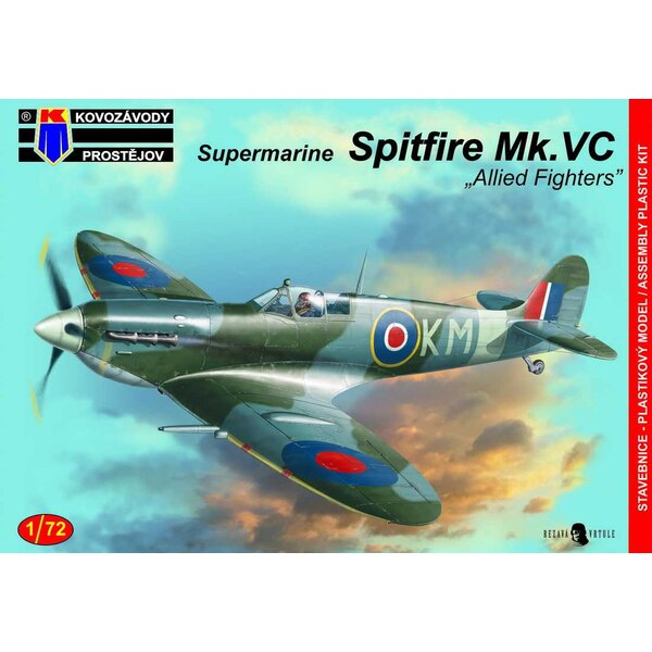 """Supermarine Spitfire Mk.VC """"Allied Fight Aces"""""""