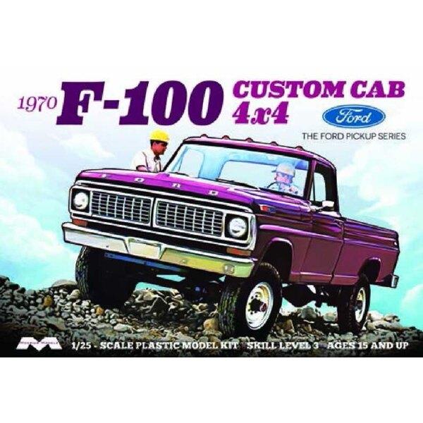1970 Ford F-100 Custom Cab 4x4