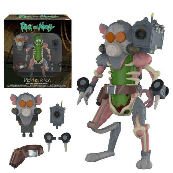 Rick & Morty Action Figure Pickle Rick 13 cm