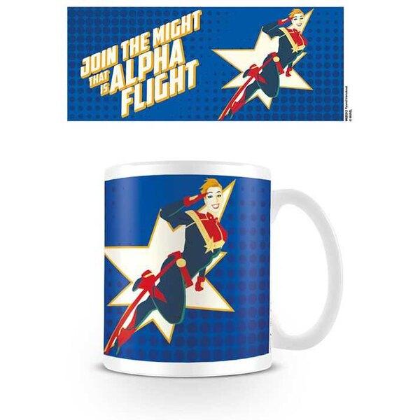 Captain Marvel Mug Alpha Flight