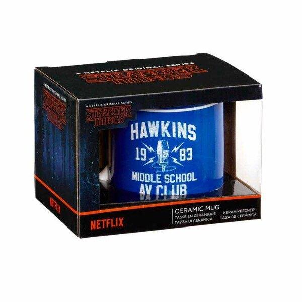 Stranger Things Hawkins AV Club-mok