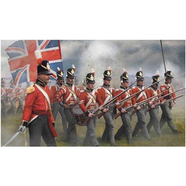 Britse infanterie in Attack (Napoleontische tijd)