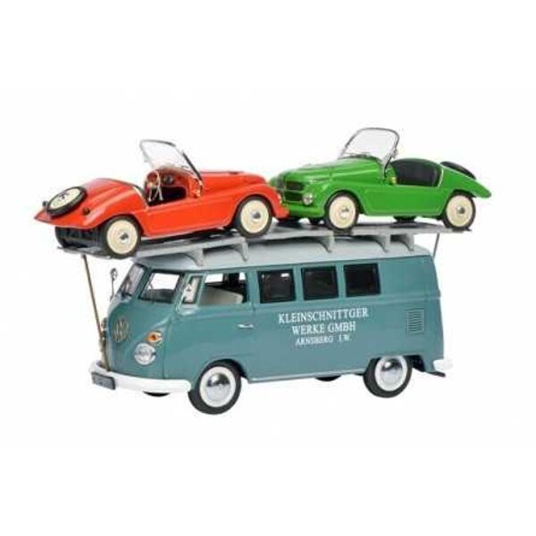VW T1 CARRIER WITH 2 BOXES SOAP